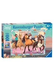 Ravensburger Dreamworks Spirit, XXL 100 Piece Jigsaw Puzzle