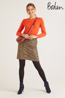 Boden Animal Betsy Mini Skirt
