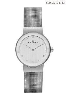 Skagen® Freja Mesh Strap Watch