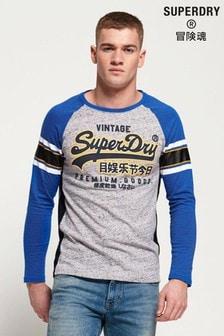 Superdry Premium Goods Outline Raglan T-Shirt