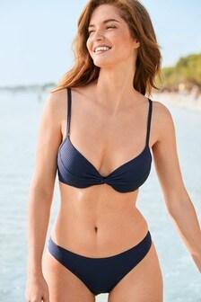Plunge Bikini Top