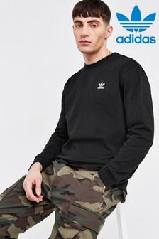 adidas Originals Back Print Long Sleeved T-Shirt