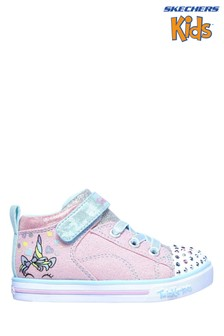 Skechers® Pink Sparkle Lite Magical Crown Trainers