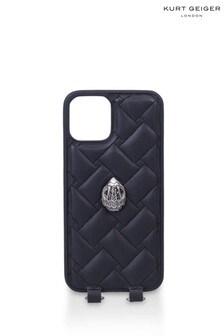 Kurt Geiger London Black iPhone 12/12 Pro Case