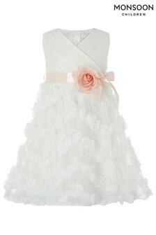 Monsoon Children Cream Baby Beau Blossom Dress