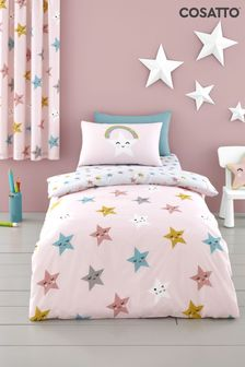 Cosatto Happy Stars Duvet Cover and Pillowcase Set