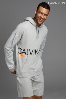 Calvin Klein Grey Hazard Loungewear Hoody