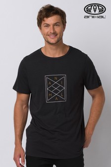Animal Black Lines Deluxe Graphic T-Shirt