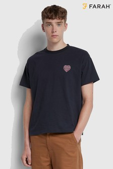 Farah Blue Todd T-Shirt