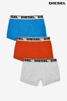 Diesel® Logo Waist Trunk Three Pack