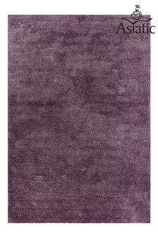 Asiatic Rugs Purple Milo Soft Touch Lustre Rug