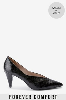 Splice Cone Heel Court Shoes