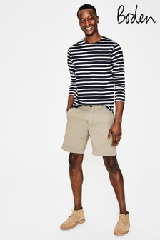 Boden Natural Chino Short
