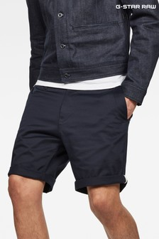 GStar Blue Bronson Straight Fit Short