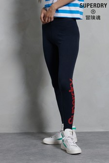 Superdry Core Logo Graphic Leggings