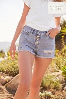 Savannah Miller Denim Shorts