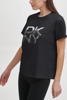 DKNY Stacked City Logo T-Shirt