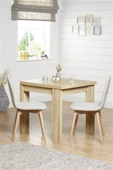 Madsen 4-6 Seater Square To Rectangle Dining Table