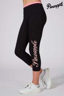 Pineapple Crop Logo Wrap Leggings
