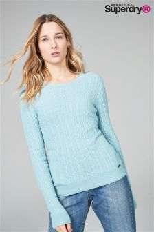 Superdry Cashmere Cable Knit