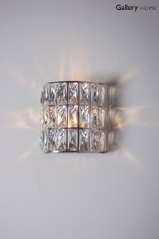 Gallery Direct Silver Velma Wall Light