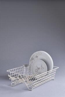 Cream Bird Dish Drainer