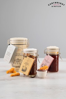 Cheese Biscuits And Chutneys Trio by Cartwright & Butler