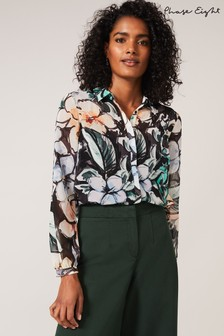 Phase Eight Green Kerria Floral Blouse