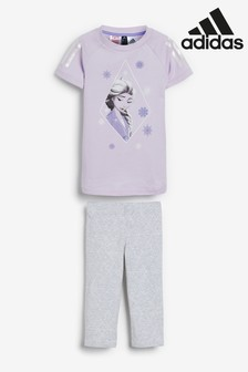 adidas Little Kids Frozen 2 Top/Leggings  Set