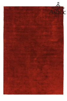 Asiatic Rugs Red Milo Soft Touch Lustre Rug