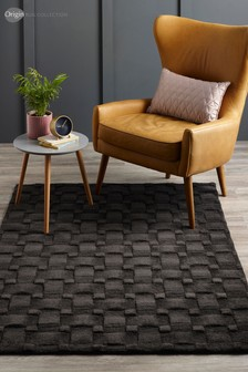 Origins Basketweave 3D Wool Rug