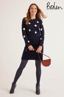 Boden Blue Leonie Cord Mini Skirt