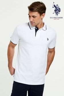 U.S. Polo. Assn Tipped Jersey Poloshirt