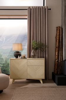 Anderson Oak Effect Small Sideboard with Drawer