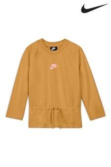 Nike Sportswear 3/4 Sleeve Tie Top