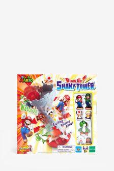 Super Mario Shaky Tower Game