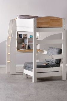 High Sleeper With Futon Bed By Kids Avenue