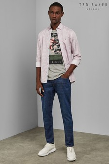 Ted Baker Tweete Mid Wash Tapered Jeans