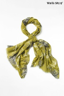 White Stuff Sycamore Cotton Silk Scarf