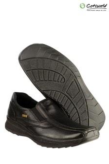Cotswold Naunton Black Casual Shoes