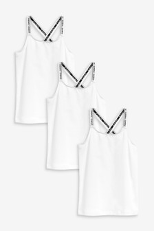 3 Pack Racer Back Sporty Cami (1.5-16yrs)