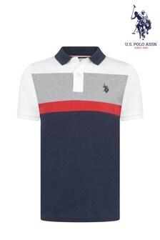 U.S. Polo Assn. Colourblock Poloshirt