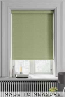 Arden Sage Green Made To Measure Blackout Roller Blind