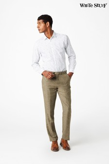 White Stuff Gold Pablo Nep Texture Trousers