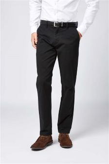 Smart Belted Chinos