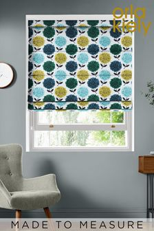 Hydrangea Made To Measure Roman Blind by Orla Kiely