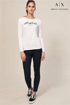 Armani Exchange Rinse J10 Skinny Crop Jean