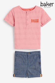 Baker by Ted Baker Top And Shorts Set