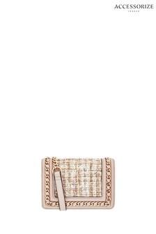 Accessorize Nude Chain Vanity Bag