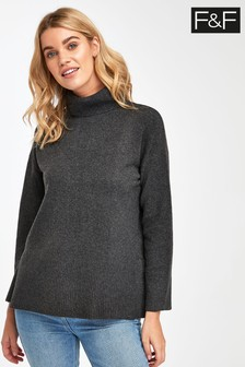 F&F Dark Grey Bryce Sweater